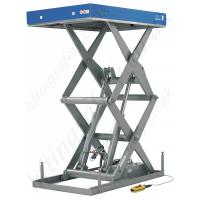 Buy cheap Telescopic scissor lifting platform 1000kg 1m with high strength steel for construction product