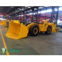 China Diesel Engine Tunnel Loader Load Haul Trailers For Underground Mining Transporter on sale