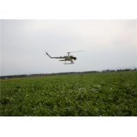 Agriculture UAV Helicopters for Pesticide Spraying 24 Hectares a Day Light