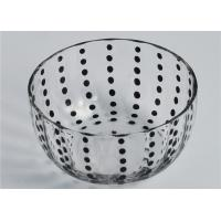 Buy cheap Colored Round Glass Candle Holder / Glass Candle Bowls Recyclable product