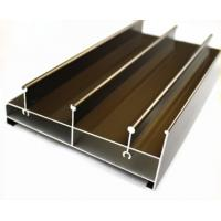 Buy cheap Acid Resistant Extruded Aluminum Electronics Enclosure Track For Sliding Door product