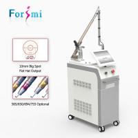 China 1064 532 nm Q-switch Nd yag Laser Tattoo Removal Machine for sale on sale