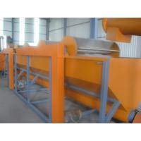 Buy cheap 500kg/h Capacity Floating Washing Tank  PP PE Waste Plastic Recycling Machine product
