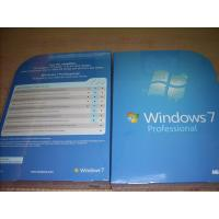 Buy cheap Russian / English Windows 7 Professional Retail Box win 7 home premium 32 bit sp1 product