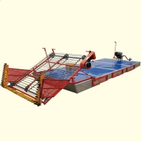 Buy cheap SS 20cm Draft Aquatic Weed Harvesting Machine For Shallow Streams product