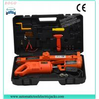 China portable 3 tons electric lifting jack for both sedan and suve with 12-45cm lifting height wholesale