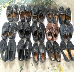 sapatas usadas baratas/sapatas segunda mão para a exportação