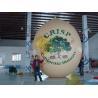 Buy cheap Le fruit imprimé UV d'écrou de mur d'aérographe a formé des ballons pour l'exposition 5m d'hélium/événement hauts from wholesalers