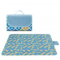 Buy cheap Outdoor Portable Pocket Picnic Blanket , Collapsible Waterproof Picnic Mat product