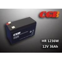 Buy cheap 12V 7ah HR1236W Charge Ups Battery , Agm Longest Lasting Deep Cycle Battery product