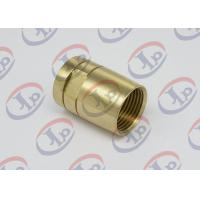 Buy cheap Brass Female Union Nipple High Precision Machining Parts With Pickling Surface product