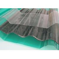 China Daylight Collecting FRP Translucent Roofing Sheets 2MM Thickness on sale