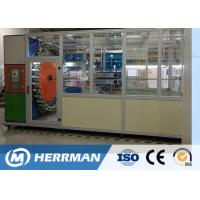 Buy cheap High Speed Wire Braiding Machine , Automatic Cable Braiding Machine Horizontal product