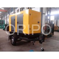 Buy cheap worldwide export 40kw trailer type diesel generator with low price from wholesalers