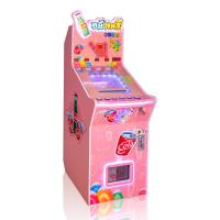 China Wood Mini Pinball Game Machine Blue / Pink Color Table In Coin Operated on sale