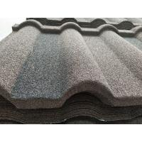 Buy cheap Colorful Stone Coated galvalume roofing sheet shingles tile for Nigeria / Philippines / Africa product