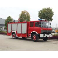 Professional 4x2 4000 Liters Water Firefighter Rescue Truck 4m3 TS16949 Approved
