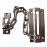 Buy cheap Door Chain, Made of Zinc Alloy with Nickel Plating product
