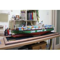 Quality Container ship model for sale