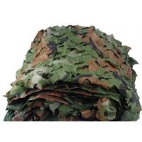 Buy cheap Oxford Polyester 150D Military Style Camo Netting For Shooting , Fishing product
