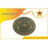 China  3D Bronze Custom Metal Coins Antique Bronze Plating For Souvenir / Ceremony  for sale