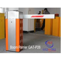 China 240V Rising Arm Automatic Boom Barrier For One Exit Parking System wholesale