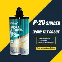 Buy cheap No Discoloration Ceramic Sanded Tile Grout Anti Mildew Easy Clean product
