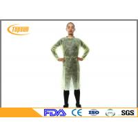 Buy cheap Sterile Disposable Surgical Gowns , SMS Disposable Hospital Gowns With Knitted Cuff product