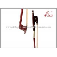 Buy cheap Brazilwood Violin Bow , Parisian Eye Silver Plated Wire Grip Full Size Violin Bow product