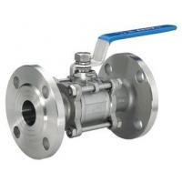Buy cheap Flanged Stainless Steel Valves 3PC Full Bore With Flanged Clamp End product