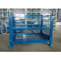 Buy cheap Portable Warehouse Storage Cages On Wheels Customized Sizes / Colors product