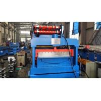 Buy cheap 7.5KW Eaves Gutter Automatic Rolling Forming Machine Steel Sheet product