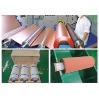 Buy cheap 500 - 5000 Meter 18um Copper Roll , High Ductility Adhesive Copper Foil Sheet product