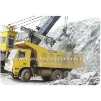 Buy cheap Rated load 50 tons Off road Mining Dump Truck Tipper  drive 6x4 with 32 m3 body cargo Volume product