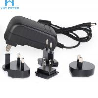 Buy cheap 12V 2A 24W Ac To Dc Power Converter , Interchangeable Universal Ac Dc Adapter product