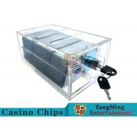 Buy cheap Acrylic Casino Game Accessories Dealers Card Holder For 6 Decks Playing Cards product