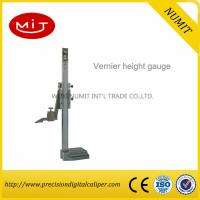 Buy cheap Precision Stainless Steel Dial height gauge/ Digital Height Caliper Gauge With Fine Adjustment product