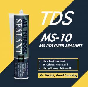 Buy cheap Good Bonding MS Polymer Sealant One Component Zero VOC product