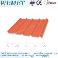 Buy cheap Corrugated steel sheet for steel structure building facade WMT-28-205-820 product