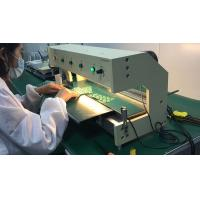 Buy cheap LED Aluminum Plate V Cut Pcb Separator / V Cut Pcb Depaneling Machine product