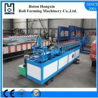 Buy cheap Gear Driving Roll Forming Machines , Roller Shutter Machine For Galvanized Profile product