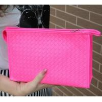 Buy cheap Fashion knitting fluorescent high-capacity lady makeup bag product