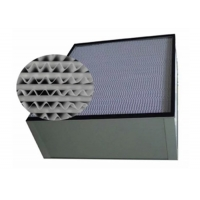 Buy cheap Aluminum Frame H13 HEPA Air Filter For Purification System product