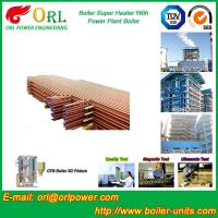 Buy cheap 30MW Unit Steam Super Heater Coils , Convective Superheater In Boiler Once Through product