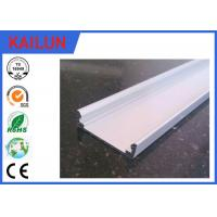 Buy cheap Silver Anodized LED Strip Aluminium Extrusion Flat Bar for 18 Watt Panel Light product