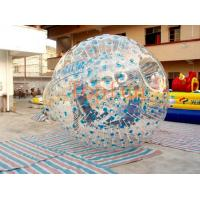 Quality Blue Dots Hamster Inflatable Zorb Ball for sale