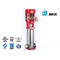 Buy cheap Electric Submersible Jockey Pump , Multistage Fire Pump Stainless Steel Materials product