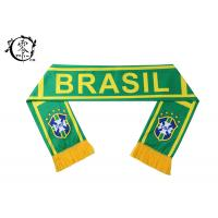 Buy cheap FIFA Soccer Club Custom Printed Scarves Polyester Fleece World Cup Event Celeration product