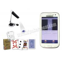 Buy cheap White S4 Samsung Mobile Poker Analyzer / Poker Scanner New Design And Technology product