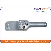 Buy cheap Security Hand Held Metal Detector Body Scanner With 7.4V Lithium Battery product